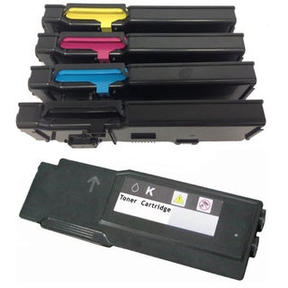 Compatible Dell 3760 Black  Cyan Magenta Yellow Toner Cartridge ( Pack Of 5 )