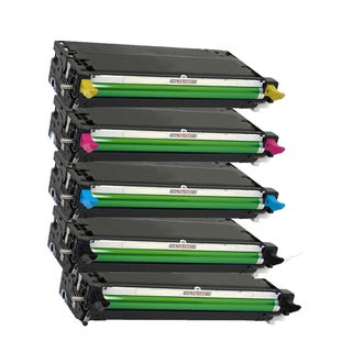 Compatible Dell 3130 Black  Cyan Magenta Yellow Toner Cartridge ( Pack Of 5 )