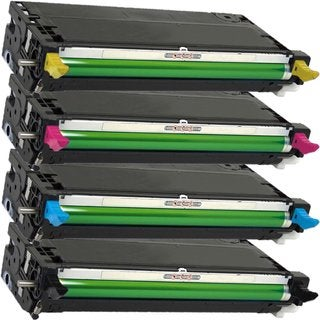 Compatible Dell 3130 Black  Cyan Magenta Yellow Toner Cartridge ( Pack Of 4 )