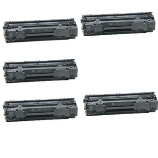 HP CB435A Black Compatible Laser Toner Cartridge ( Pack of 5 )
