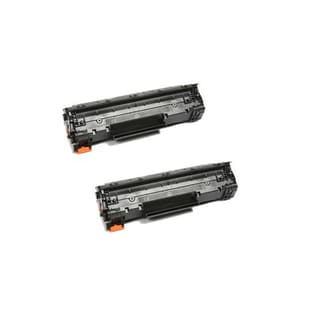 HP CE278A (78A) Black Compatible Laser Toner Cartridge (Pack of 2)
