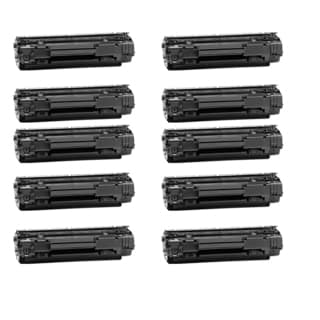 HP CB435A Black Compatible Laser Toner Cartridge ( Pack of 10 )