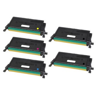 Compatible Dell 2145  Black Cyan Magenta Yellow Toner Cartridge ( Pack Of 5 )