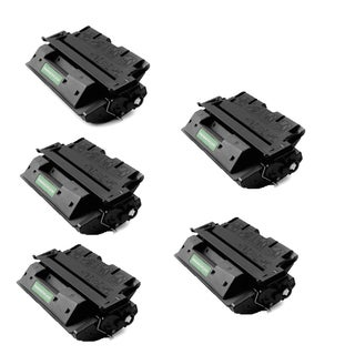 HP C8061X Remanufactured Compatible Black Toner Cartridge ( Pack of 5 )
