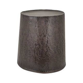 LS Dimond Home Bronze Drum Stool