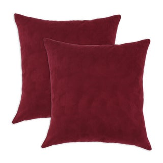 Victory Lane Crimson 17x17 Pillows (Set of 2)