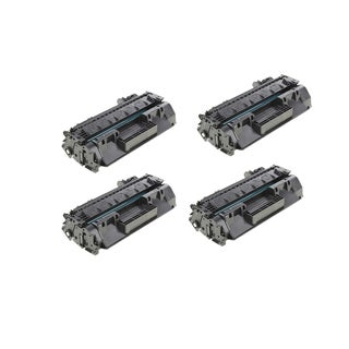 HP CF280A Compatible Black Toner Cartridge (Pack of 4)