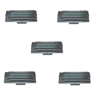 Compatible Samsung ML-1710D3/ ML-1210/ ML-1210D3 Black Toner Cartridges (Pack of 5)