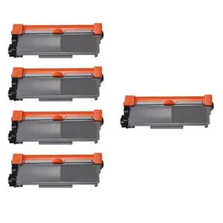 Brother TN630 BK Compatible Toner Cartridge HL-L2300D HL-L2305W HL-L2320D HL-L2340DW HL-L2360DW (Pack of 5)