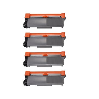 Compatible Brother TN630 HL-L2380DW/ DCP-L2520DW/ DCP-L2540DW/ MFC-L2700DW Toner Cartridges (Pack of 4)