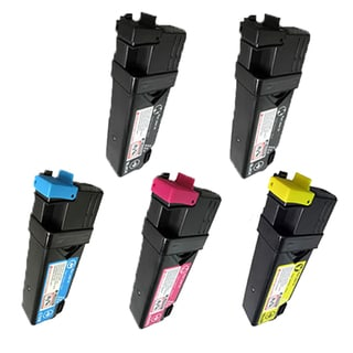 Dell 1320 M C Y 2B Compatible Toner Cartridges Dell 1320 1320c 1325 ( Pack Of 5 )