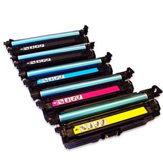 Canon 131 Remanufactured High Yield 2 Black 1 Cyan 1 Yellow 1 Magenta Toner Cartridge MF8280Cw (Pack of 5)