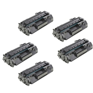 HP CF280A Compatible Black Toner Cartridge (Pack of 5)