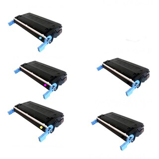 Canon Compatible 117 Quality (2 BK + C Y M) Toner Cartridge MF8450c (Pack of 5)