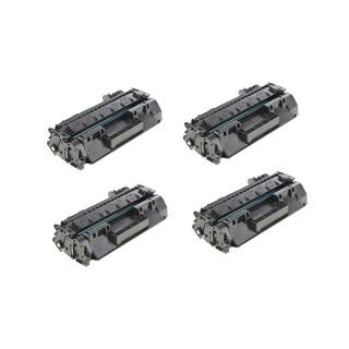 HP CF280X Compatible Black Toner Cartridge (Pack of 4)