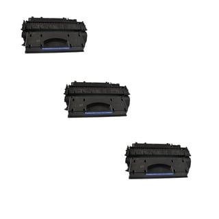 Compatible HP CE505X Black Toner Cartridge P2055 P2055d P2055dn P2055x (Pack of 3)
