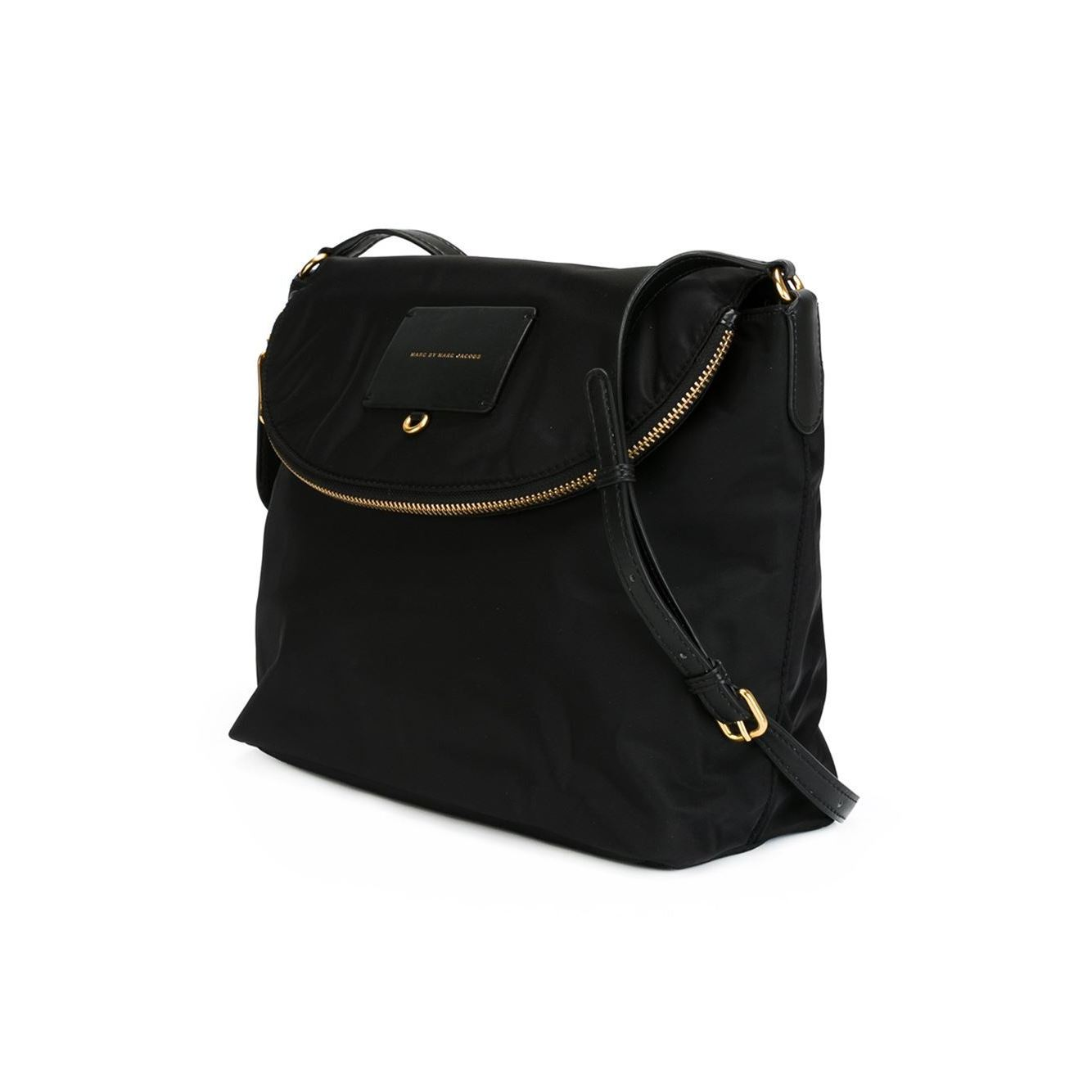 1c63141be Shop Marc By Marc Jacobs Preppy Legend Sasha Nylon Black Crossbody - Free  Shipping Today - Overstock - 10394222