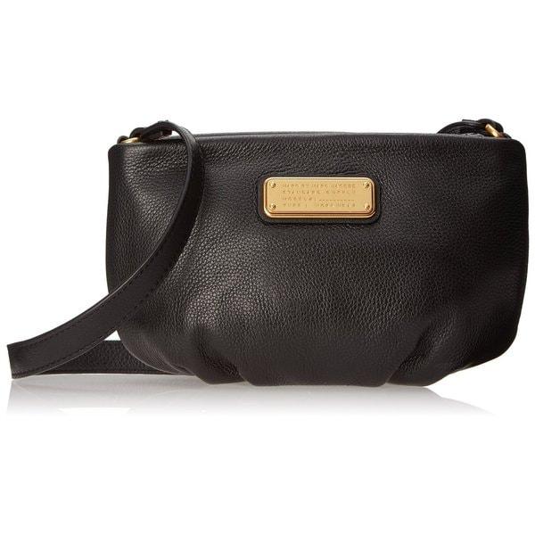 b98b3fd2927a Shop Marc By Marc Jacobs New Q Percy Black Crossbody Handbag - Free ...