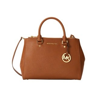 Michael Kors Sutton Luggage Medium Satchel Handbag