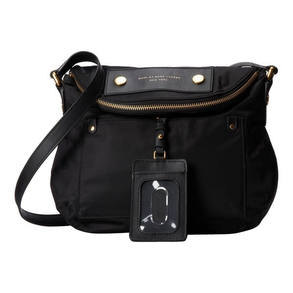 efebfe5053aa Shop Marc By Marc Jacobs Preppy Legend Sasha Black Crossbody - Free ...