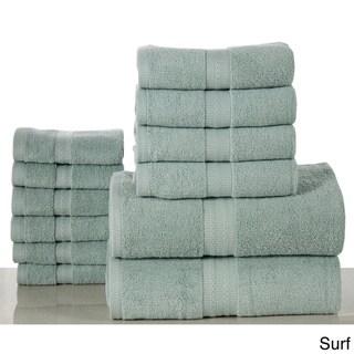 Bano Senses Egyptian Cotton 600 GSM 12-piece Towel Set