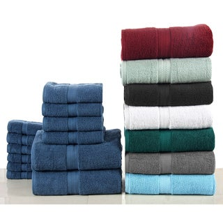 Bano Senses Cotton 600 GSM 12-piece Towel Set