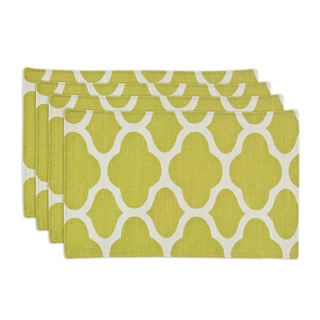 Strathmore Cilantro 12.5x19 Lined Placemats (Set of 4)