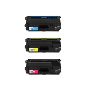 Compatible Brother TN331/ MFC-L8600CDW/ HL-L8350CDW/ MFC-L8850CDW Cyan, Yellow, Magenta Toner Cartridge (Pack of 3)