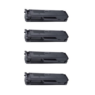 Dell 1160 High Yield Compatible Black Toner Cartridge Dell B1160 B1160W ( Pack Of 4 )
