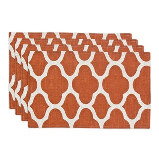 Strathmore Cayene 12.5x19 Lined Placemats (Set of 4)