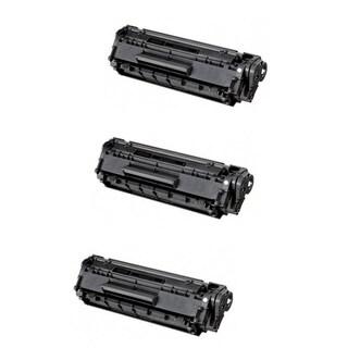Canon 128 (3500B001AA) Black Compatible Toner Cartridge D550 MF4450 MF4570dn (Pack of 3)