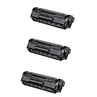 Canon 128 (3500B001AA) Black Compatible Toner Cartridge D550 MF4450 MF4570dn (Pack of 3)