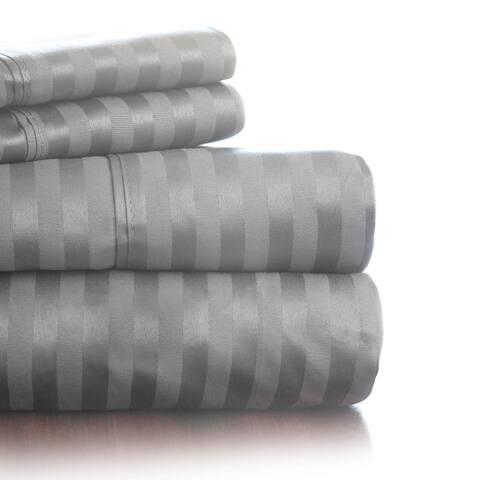 Windsor Home 300 Thread Count Cotton Sateen Sheet Set