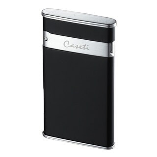 Caseti Flaco Ultra-thin Jet Flame Cigar Lighter - Black Matte (Ships Degassed)
