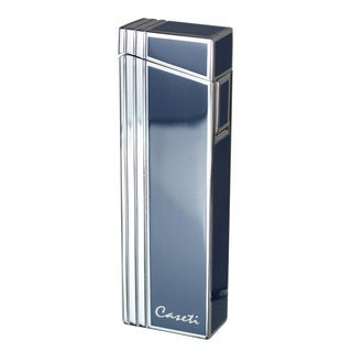 Caseti Wilhelm Compact Torch Flame Lighter - Blue Lacquer  (Ships Degassed)