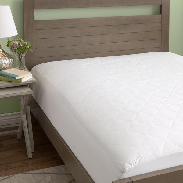 European Heritage 100-Percent Cotton Mattress Pad (Standard or Extra Deep Fit)