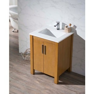 Stufurhome Windsor 25 Inch Single Sink Bathroom Vanity
