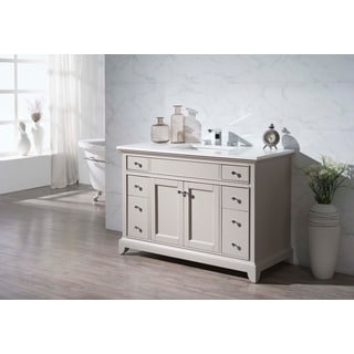 Stufurhome Arianny 49 Inch Single Sink Bathroom Vanity