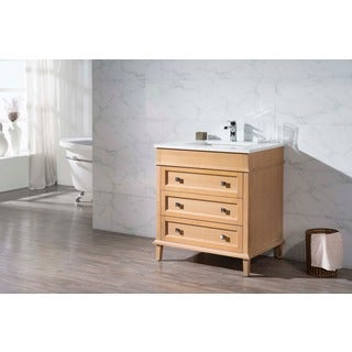 Stufurhome Norwood 31 Inch Single Sink Bathroom Vanity