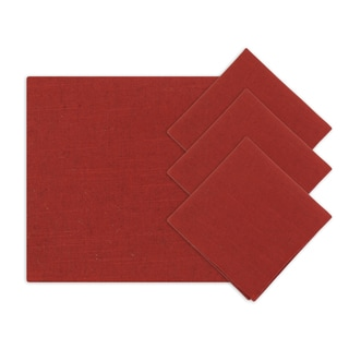 Circa Solid Lava 18-inch Napkins (Set of 4)