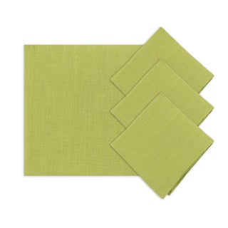 Circa Solid Cactus 18-inch Napkins (Set of 4)