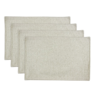 Linen Natural Lined Placemat (Set of 4)