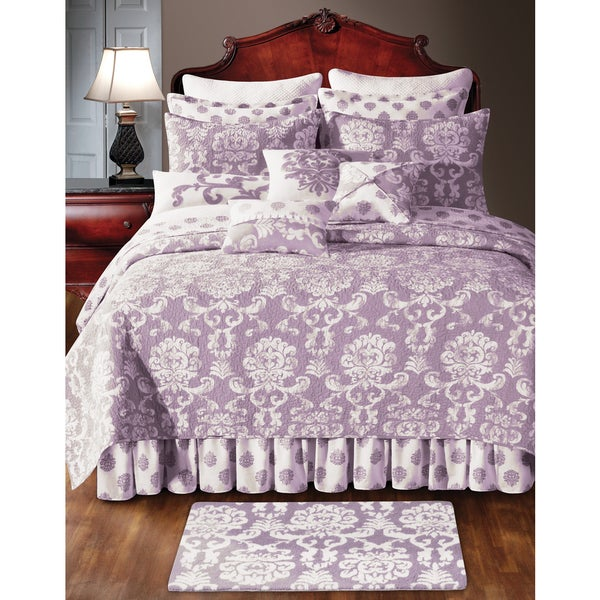 Providence Orchid Quilt (Shams Not Included)