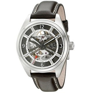 Hamilton Men's H72515585 Khaki Field Silver Watch