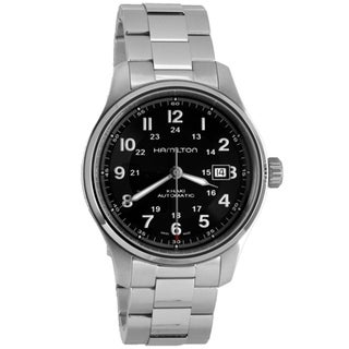 Hamilton Men's H70525133 Khaki Field Titanium Black Watch