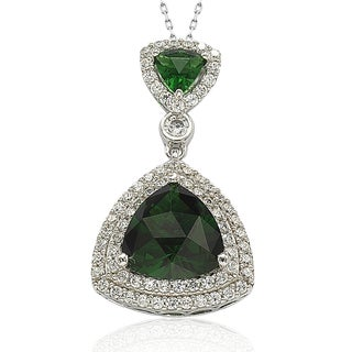 Suzy Levian Sterling Silver Cubic Zirconia Pendant