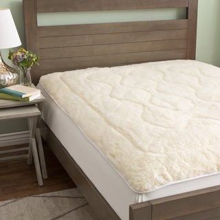 European Heritage Luxury Reversible Australian Merino Wool/Cotton Mattress Pad