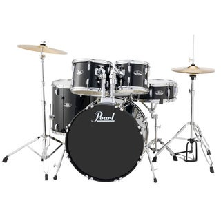 Pearl Roadshow Rs525s 5-piece Jet Black Drum Set