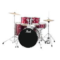 Pearl Roadshow Rs525s 5-piece Wine Red Drum Set