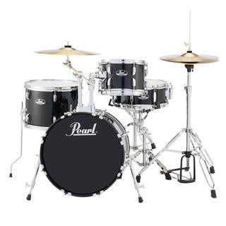 Pearl Roadshow Rs584 4-piece Jet Black Drum Set|https://ak1.ostkcdn.com/images/products/10395152/P17498154.jpg?impolicy=medium